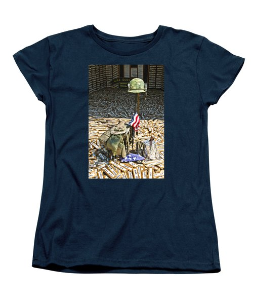 War Dogs Sacrifice Women's T-Shirt (Standard Cut)
