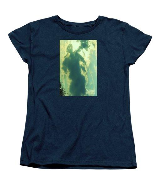 Women's T-Shirt (Standard Cut) featuring the photograph Warrior Hunter by Robin Coaker
