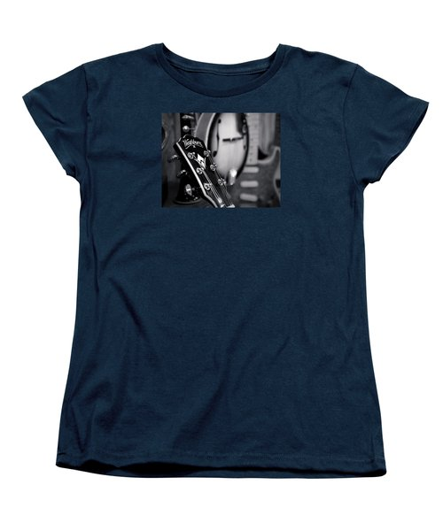 Women's T-Shirt (Standard Cut) featuring the photograph Washburn Guitar by Andy Crawford