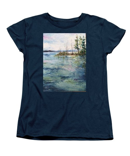 Washed By The Waters Series Women's T-Shirt (Standard Cut) by Robin Miller-Bookhout