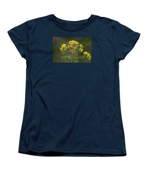 Women's T-Shirt (Standard Cut) featuring the photograph Wasp by Heidi Poulin