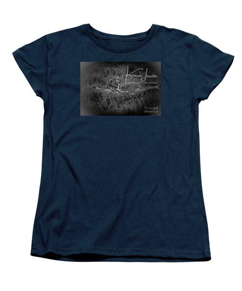 Women's T-Shirt (Standard Cut) featuring the photograph Watching You Watching Me by Karen Lewis