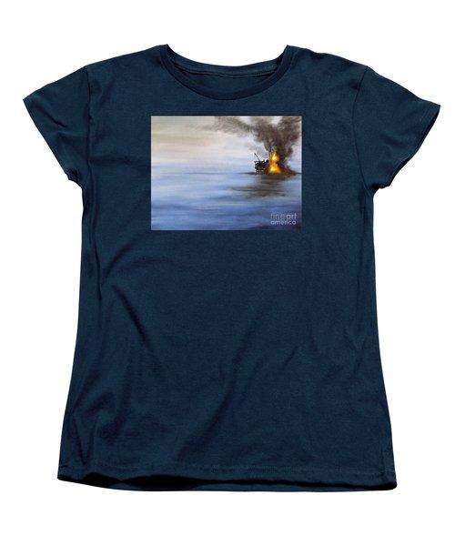 Water And Air Pollution Women's T-Shirt (Standard Cut)