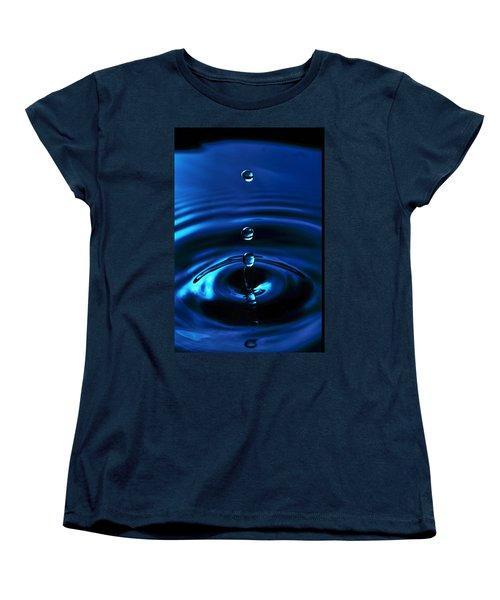 Water Drop Women's T-Shirt (Standard Cut) by Marlo Horne