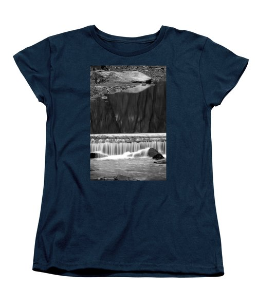 Water Fall And Reflexions Women's T-Shirt (Standard Cut)