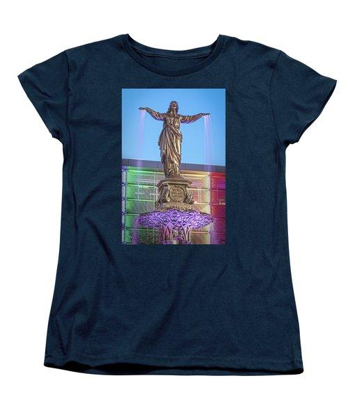 Water Genius 2 Women's T-Shirt (Standard Cut) by Scott Meyer