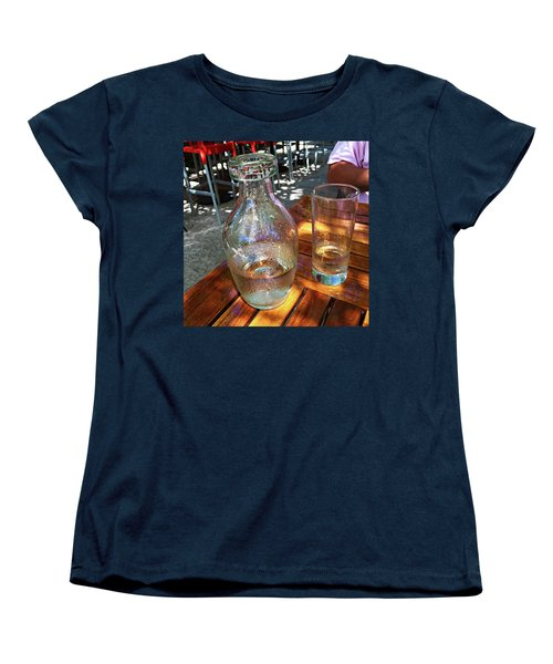 Water Glass And Pitcher Women's T-Shirt (Standard Cut)