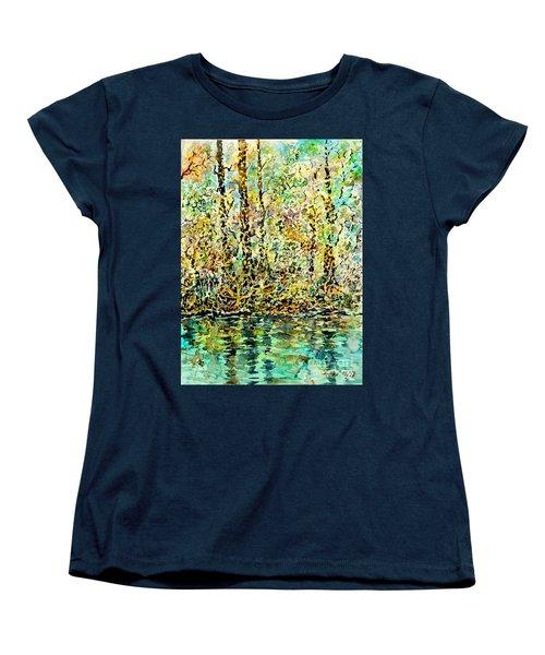 Water Kissing Land Women's T-Shirt (Standard Cut)