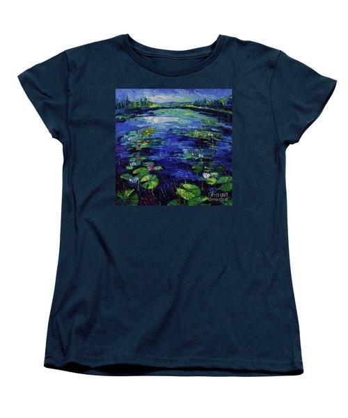 Water Lilies Magic Women's T-Shirt (Standard Cut)