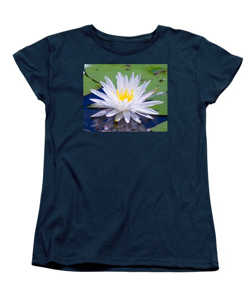 Women's T-Shirt (Standard Cut) featuring the photograph Water Lily by Bill Barber