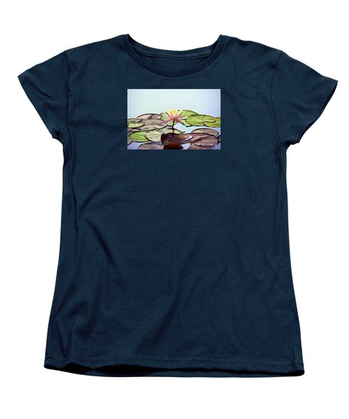 Women's T-Shirt (Standard Cut) featuring the photograph Water Lily Dream by Lisa L Silva