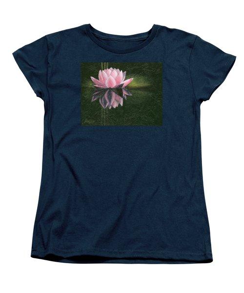 Water Lily Women's T-Shirt (Standard Cut)
