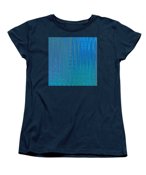 Water Music Women's T-Shirt (Standard Cut) by Stephanie Grant
