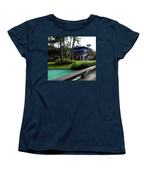 Watercolor Florida Women's T-Shirt (Standard Cut) by Megan Cohen