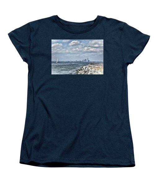 Watercolor Views Women's T-Shirt (Standard Cut) by Terry Cork