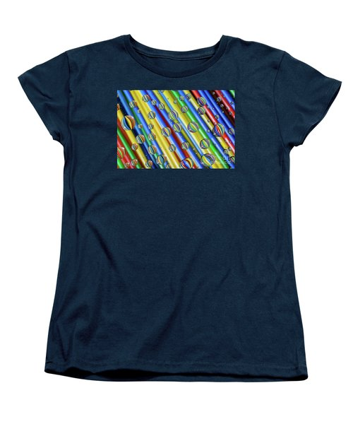 waterDroplets02 Women's T-Shirt (Standard Cut)
