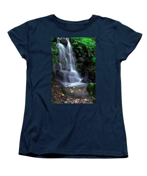 Waterfall Women's T-Shirt (Standard Cut) by Carlos Caetano