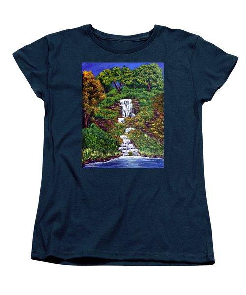 Waterfall Women's T-Shirt (Standard Cut)