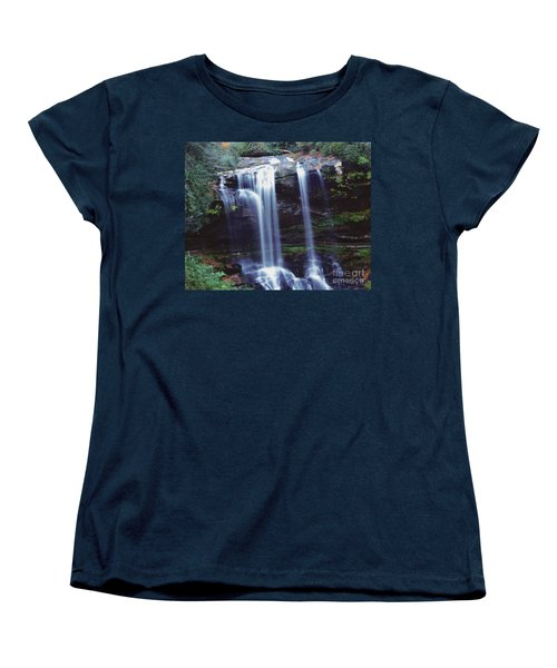 Waterfall  Women's T-Shirt (Standard Cut) by Debra Crank