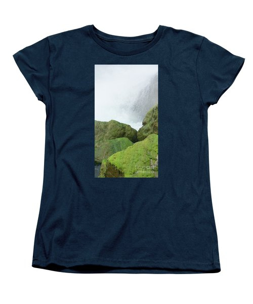 Women's T-Shirt (Standard Cut) featuring the photograph Waterfall by Raymond Earley