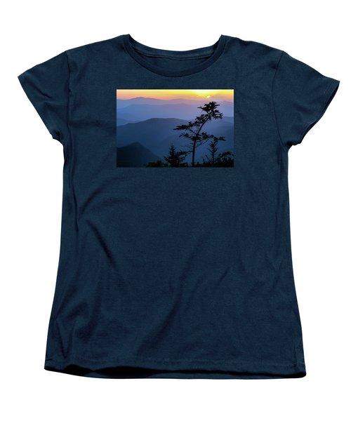 Waterrock Blues Women's T-Shirt (Standard Cut) by Deborah Scannell