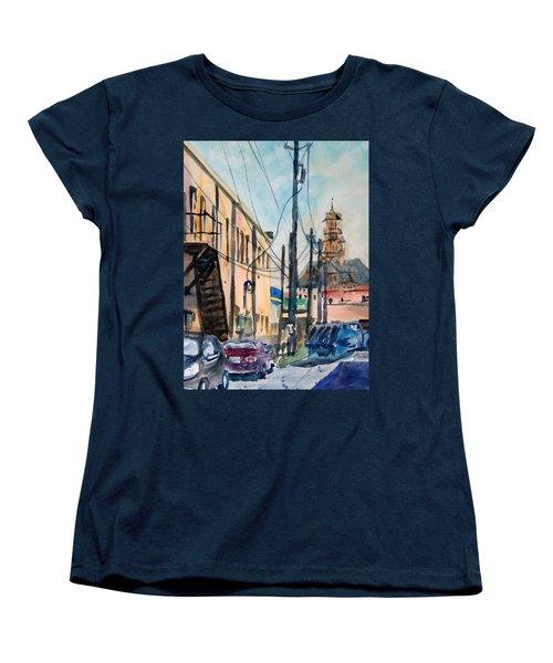 Waxahachie Back Alley Women's T-Shirt (Standard Cut)