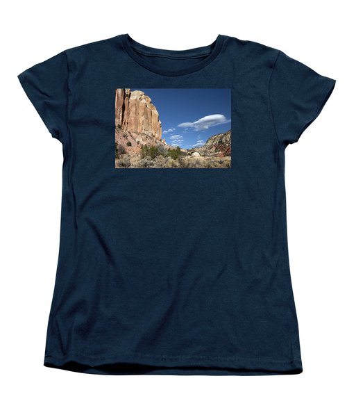 Way In The Distance Women's T-Shirt (Standard Cut) by Elvira Butler