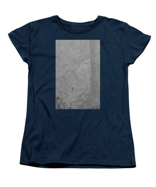 Wayward Wizard Women's T-Shirt (Standard Cut) by Corbin Cox