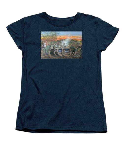 We Did It First Forrest Women's T-Shirt (Standard Cut)