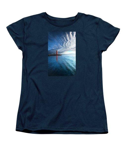 We Wait Women's T-Shirt (Standard Cut) by Phil Koch