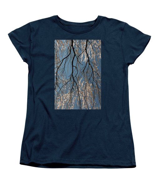 Weeping Cherry #2 Women's T-Shirt (Standard Cut) by Dana Sohr