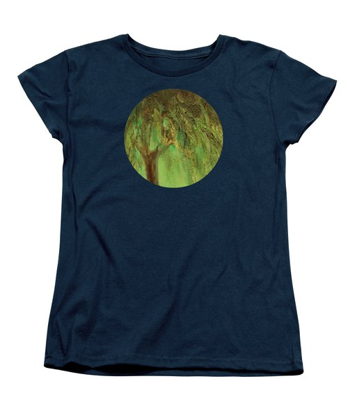 Weeping Willow Women's T-Shirt (Standard Cut) by Mary Wolf