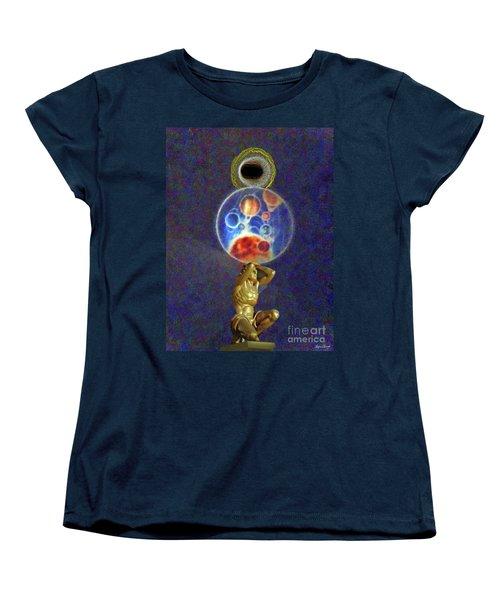 Weight Of The World Women's T-Shirt (Standard Cut) by Lyric Lucas