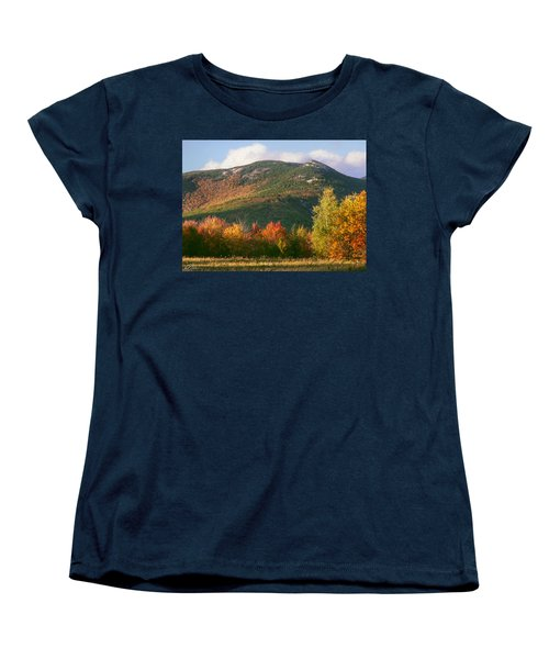 Welch And Dickey Mountains Women's T-Shirt (Standard Cut) by Nancy Griswold