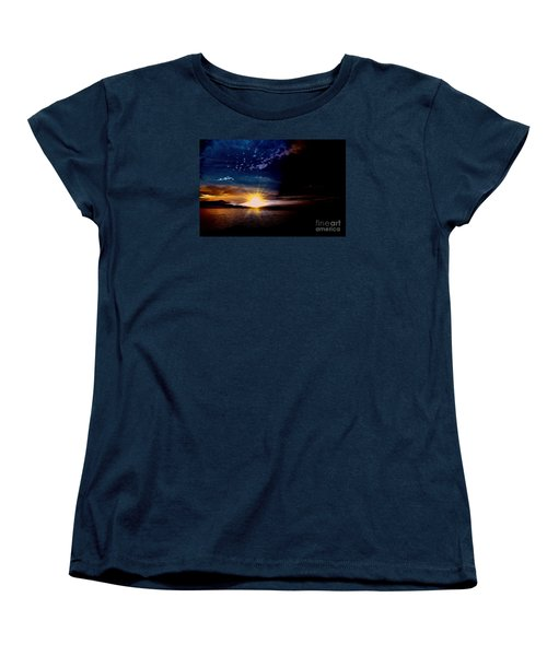 Welcome Beach 2015 3 Women's T-Shirt (Standard Cut) by Elaine Hunter