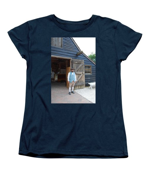 Welcome Women's T-Shirt (Standard Cut) by Eric Liller