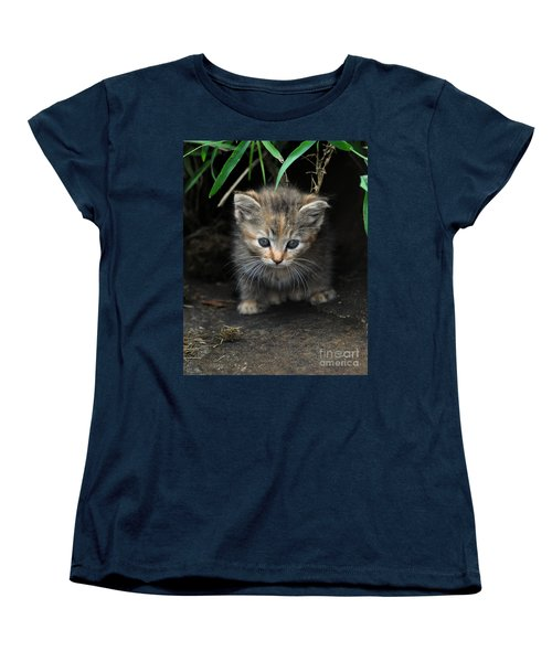 Welcome To The Jungle Women's T-Shirt (Standard Cut) by Eric Liller