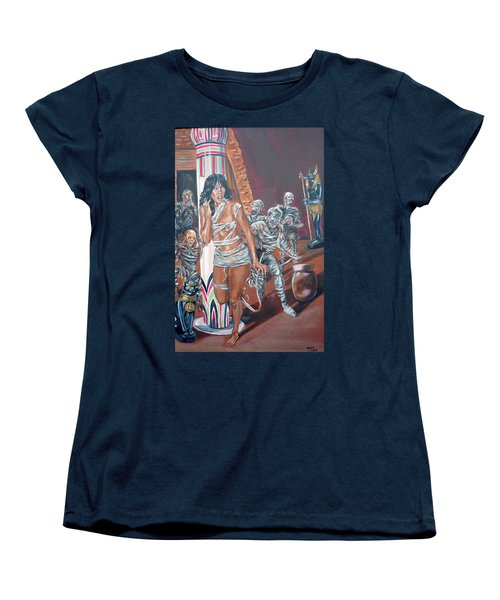 Well Preserved Women's T-Shirt (Standard Cut) by Bryan Bustard