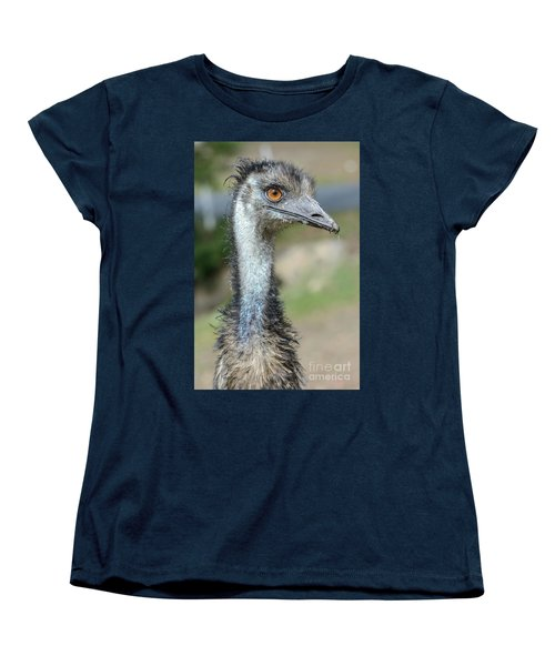 Emu 2 Women's T-Shirt (Standard Cut) by Werner Padarin