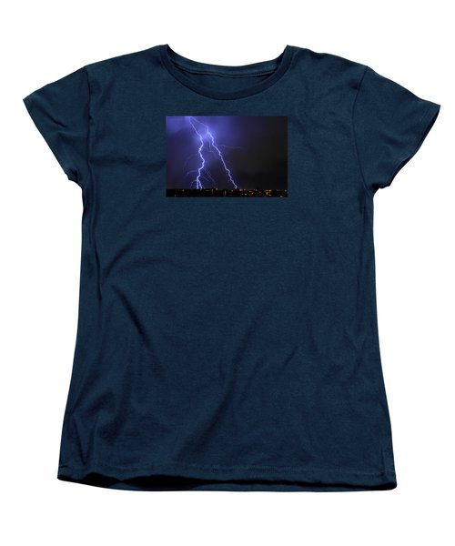 West Jordan Lightning 1 Women's T-Shirt (Standard Cut) by Paul Marto