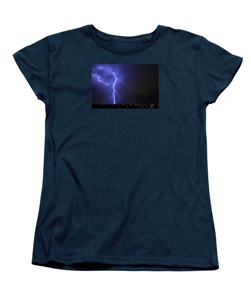West Jordan Lightning 2 Women's T-Shirt (Standard Cut) by Paul Marto