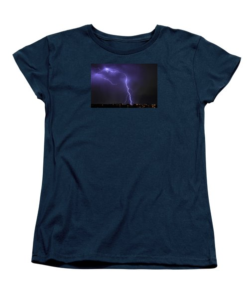 West Jordan Lightning 3 Women's T-Shirt (Standard Cut) by Paul Marto