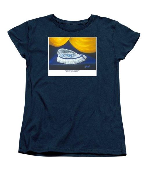 West Virginia University School Of Nursing Women's T-Shirt (Standard Cut)