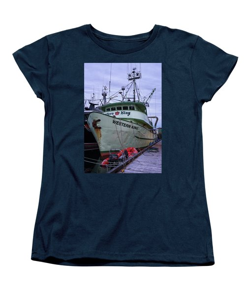 Women's T-Shirt (Standard Cut) featuring the photograph Western King At Discovery Harbour by Randy Hall