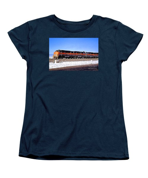 Western Pacific Diesel Locomotive Trainset Women's T-Shirt (Standard Cut) by Wernher Krutein