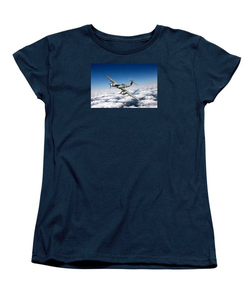 Women's T-Shirt (Standard Cut) featuring the photograph Westland Whirlwind Portrait by Gary Eason