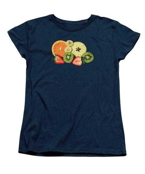 Women's T-Shirt (Standard Cut) featuring the photograph Wet Fruit by Shane Bechler