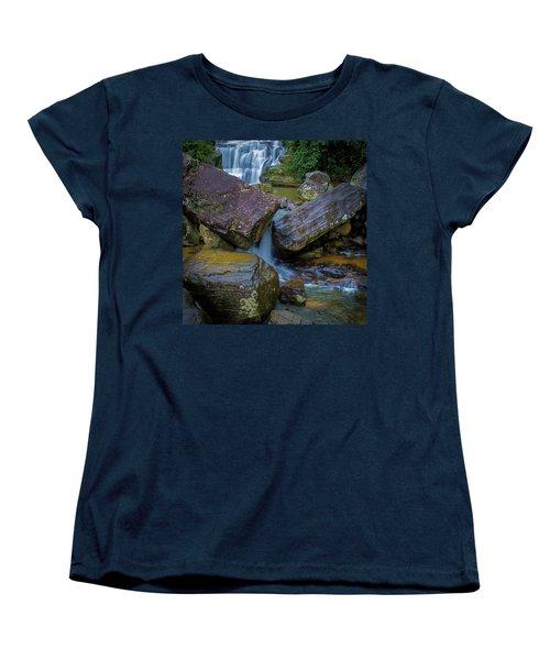 Women's T-Shirt (Standard Cut) featuring the photograph Ravana Ella, Sri Lanka, 2012 by Hitendra SINKAR