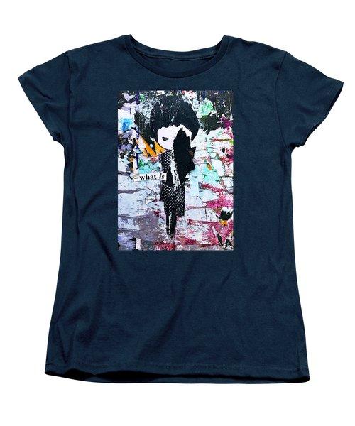 What Is ... Women's T-Shirt (Standard Cut) by JoAnn Lense