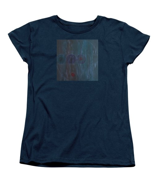 Women's T-Shirt (Standard Cut) featuring the painting What Is Life? by Min Zou